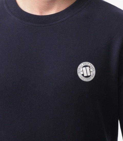 Pit Bull West Coast-Small Logo Crewneck Bluza Dark Navy