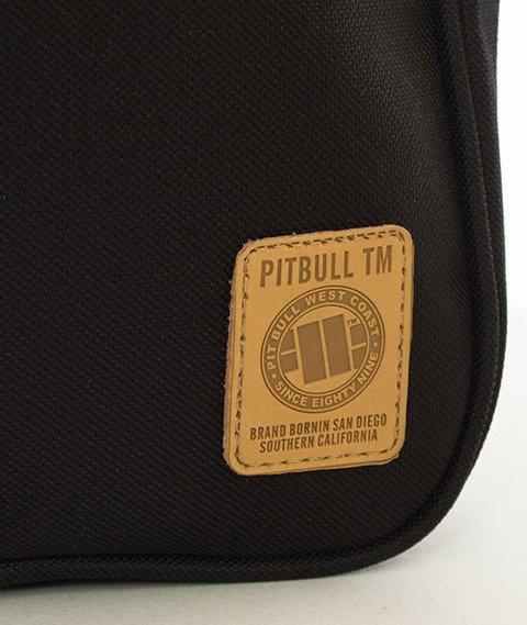Pit Bull West Coast-Torba Listonoszka Small Logo Czarna