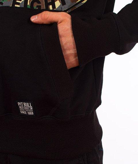 Pit Bull West Coast-Urban Camo Black Hoodie Bluza Kaptur Czarny