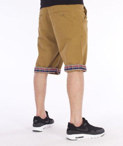 Pit Bull West Coast-Vintage Spodnie Krótkie Chino Piaskowe