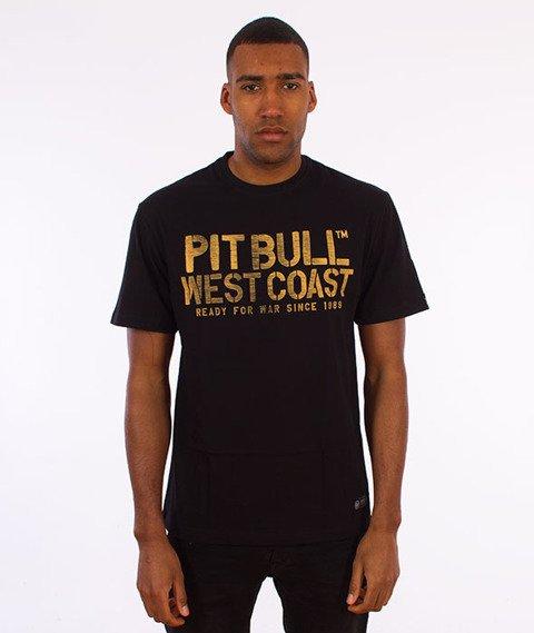 Pit Bull West Coast-War Dog T-Shirt Czarny