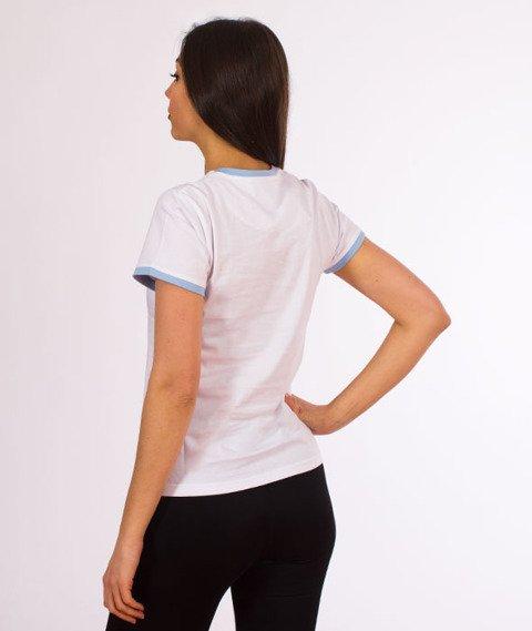 Pizza Sport-T-Shirt damski Biały