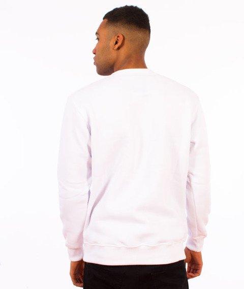 Pogo-Honda Crewneck Bluza Biała
