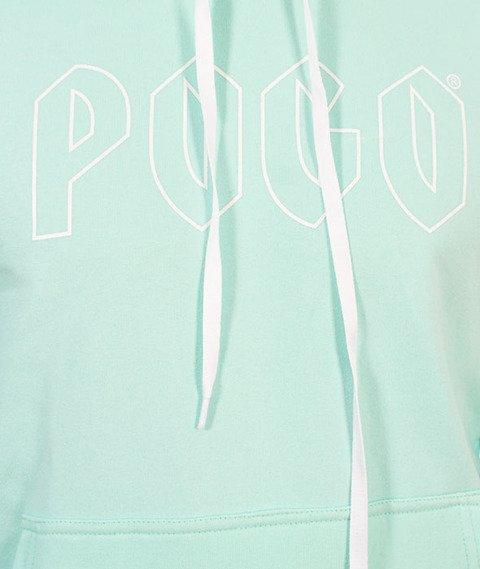 Pogo-Honda Hoodie Bluza Kaptur Miętowa