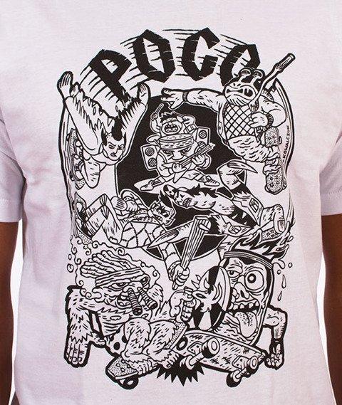 Pogo-Mosh T-Shirt Biały