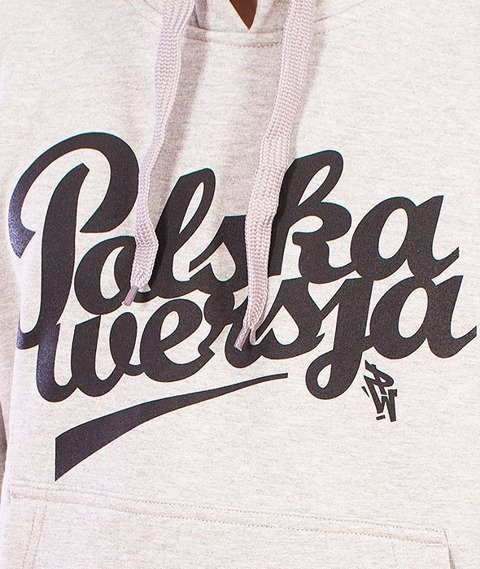 Polska Wersja-Polska Wersja Kaptur Szary
