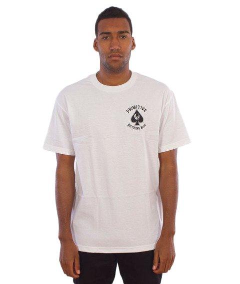 Primitive-Royal Skull T-Shirt Biały
