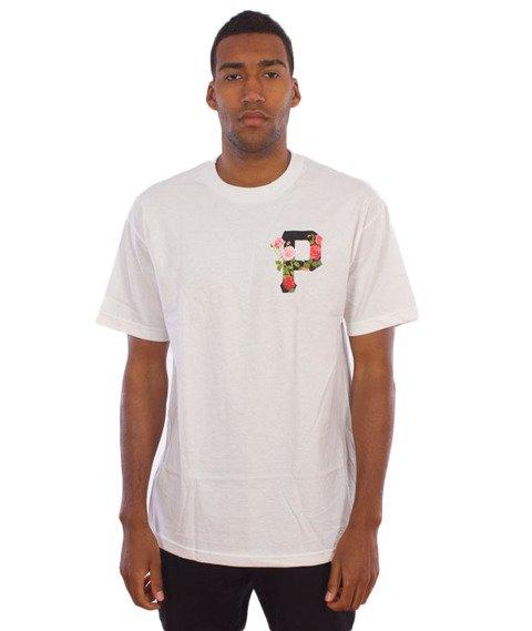 Primitive-Slab Rose T-Shirt Biały