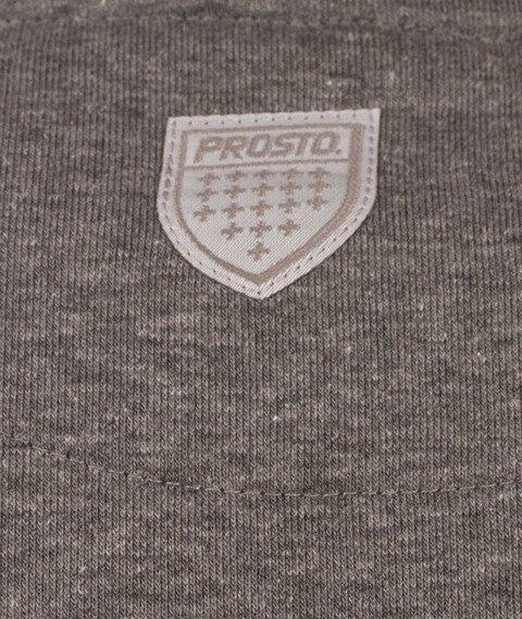 Prosto-Base Bluza Kaptur Granatowa/Szara