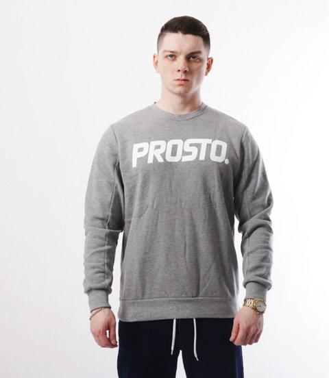 Prosto-CN Clazzic Grey Crewneck Bluza Szara