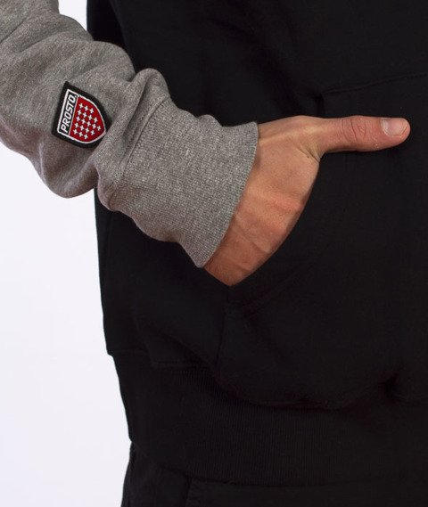 Prosto-Cover Bluza Kaptur Rozpinana Czarna
