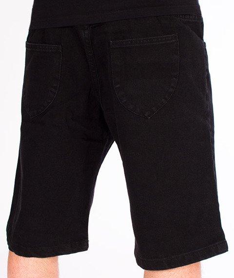 Prosto-Jeans Shorts Manila Krótkie Spodnie Czarne