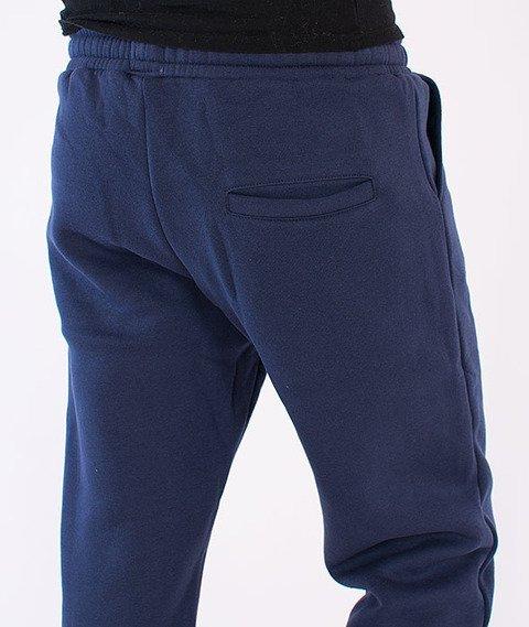 Prosto-KL Basic Spodnie Dresowe Granatowe