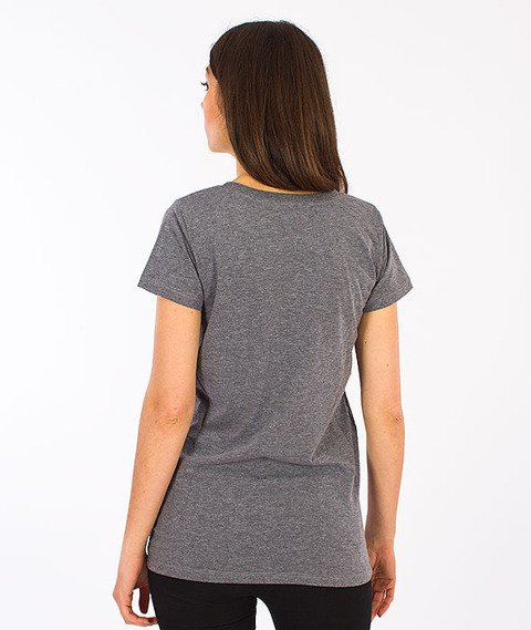 Prosto-KL Fresh T-shirt Damski Medium Heather Gray