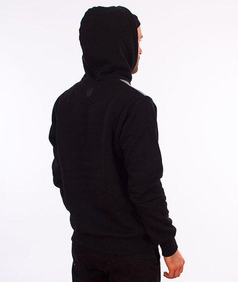 Prosto-New Tonal Bluza Kaptur Czarny/Szary/Biały