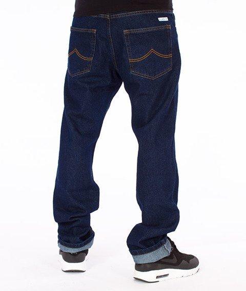 Prosto-Simple Jeans Spodnie Granatowe