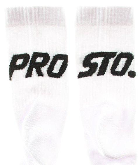 Prosto-Socks 2Pack2 Duże Logo White/Black