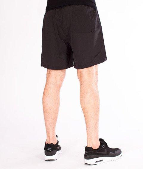 Prosto-Swim Shorts Tropical Krótkie Spodnie Czarne