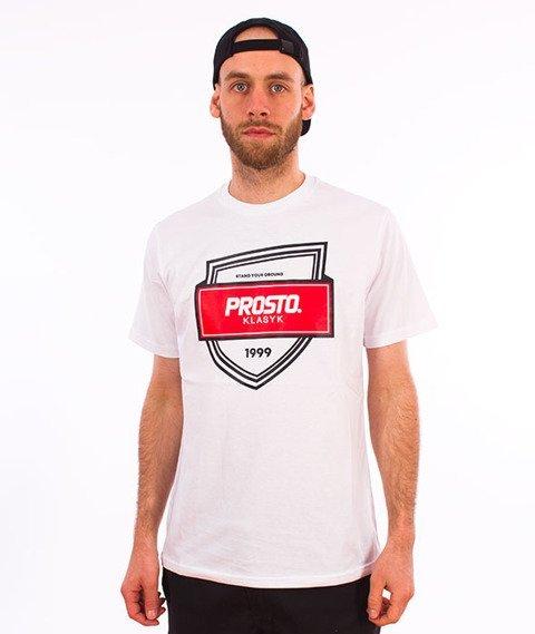 Prosto-TS Badge T-Shirt White