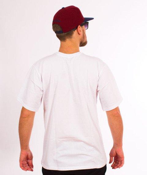 RPS KLASYKA-SLU GANG College T-Shirt Biały