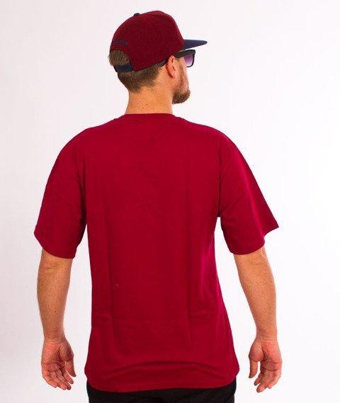 RPS KLASYKA-SLU GANG College T-Shirt Bordo