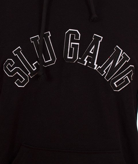 RPS KLASYKA-SLU Gang College Hoodie Bluza Z Kapturem Czarna