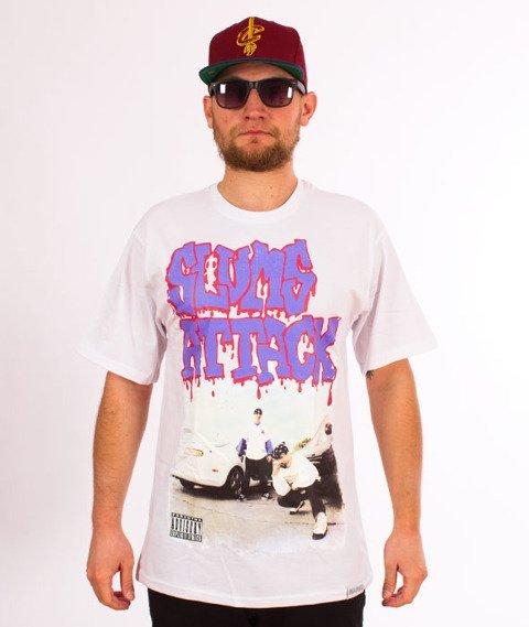 RPS KLASYKA-Slums Attack Vintage Cover T-Shirt Biały