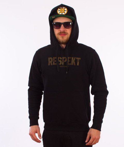Respekt-Classic Moro Bluza z Kapturem Czarna