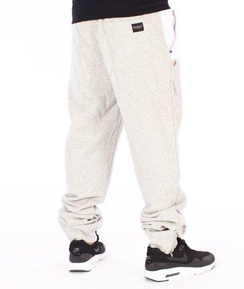 RocaWear-Fleecepant Retro Sport Spodnie Dresowe Szare