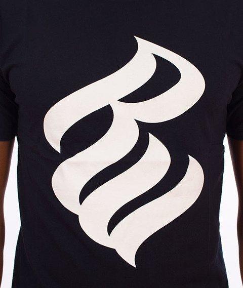 Rocawear-Rocawear Logo T-Shirt Granatowy