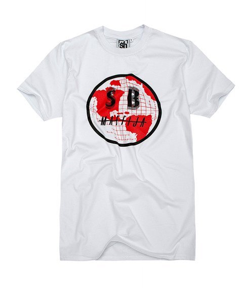 SB Maffija-Global Expansion T-Shirt Biały