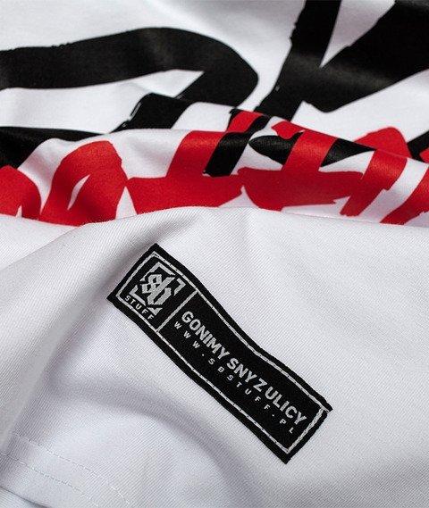 SB Maffija-SB Stuff Big Logo T-Shirt Biały