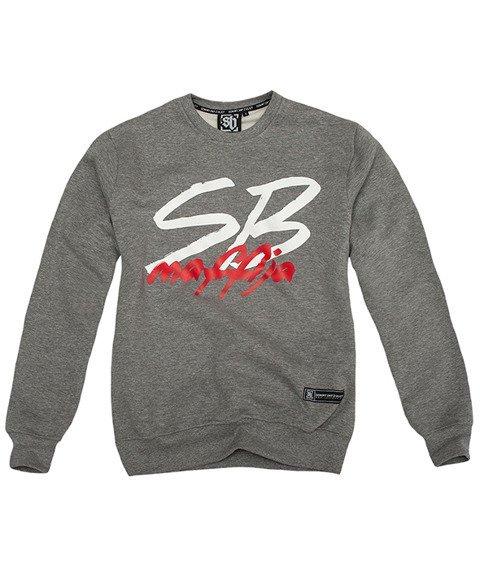 SB Maffija-SB Stuff Classic Bluza Szara