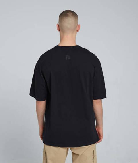 Smoke Story ALIVE T-Shirt Oversize Czarny