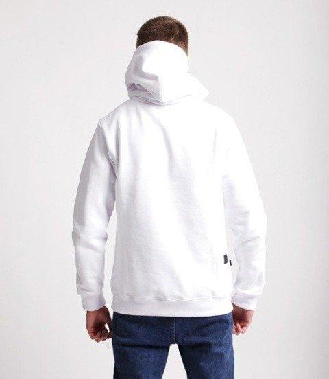 Smoke Story CLASSIC ONE TONE Bluza z Kapturem Biały
