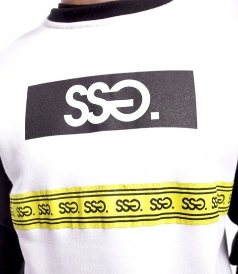 Smoke Story COLORS LINE Bluza bez kaptura Biały