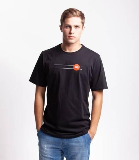 Smoke Story GRAFFITI CIRCLE T-Shirt Czarny