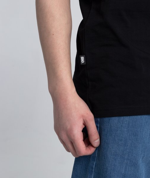 Smoke Story RAGLAN STRAIGHT T-Shirt Czarny