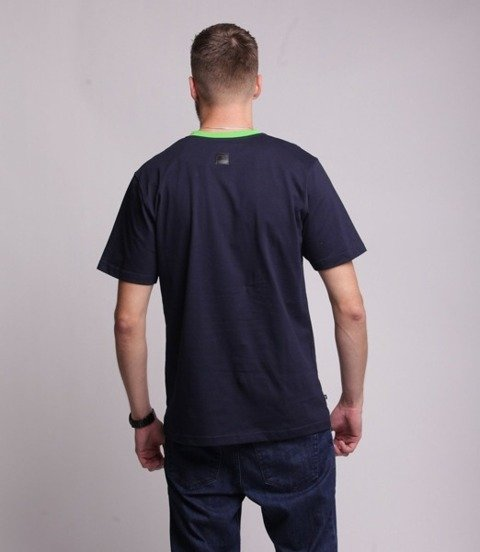 Smoke Story RUBBER 3D T-Shirt Fioletowy
