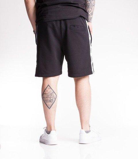 Smoke Story TAPE 3D Krótkie Spodnie Bawełniane Czarny