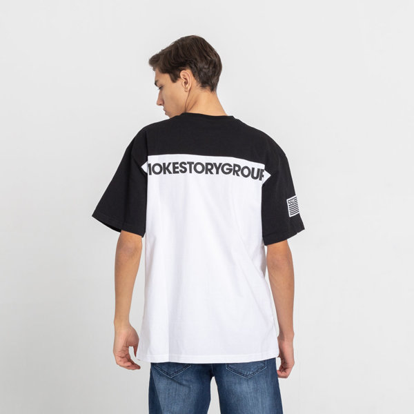 SmokeStory-08 Green Moro T-Shirt Czarna Góra