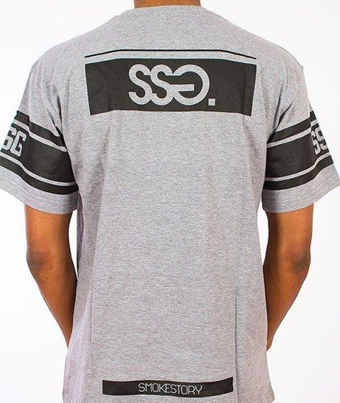 SmokeStory-08 T-Shirt Szary