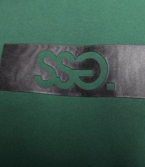 SmokeStory-Belt SSG Crewneck Bluza Ciemno Zielona