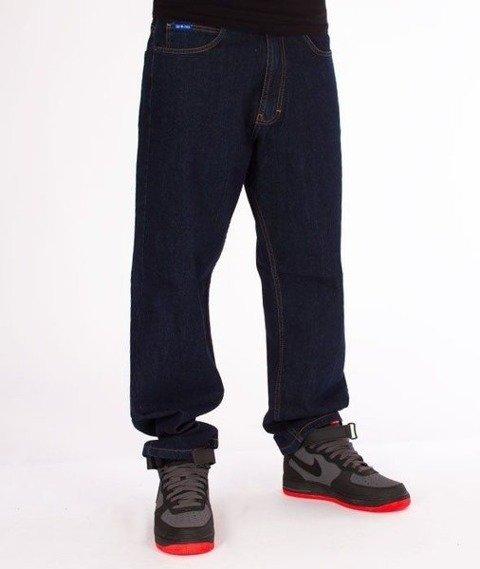 SmokeStory-Big Baggy Jeans Dark Blue