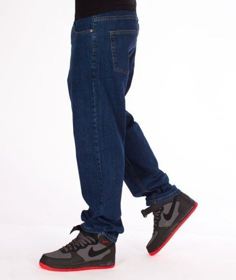 SmokeStory-Big Baggy Jeans Medium Blue