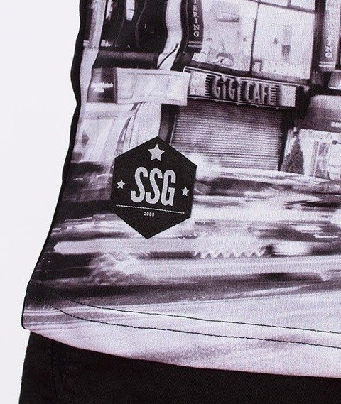 SmokeStory-Black City T-Shirt Czarny