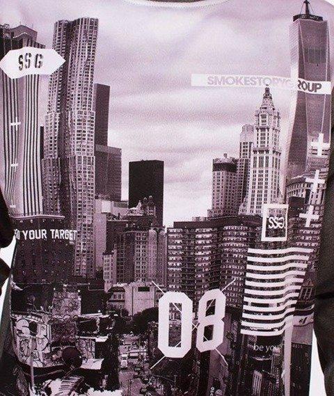 SmokeStory-City BW Bluza Szara