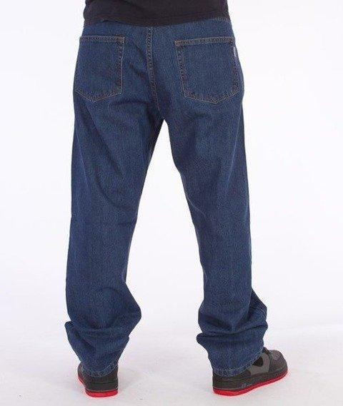 SmokeStory-Classic Baggy Jeans Medium Blue