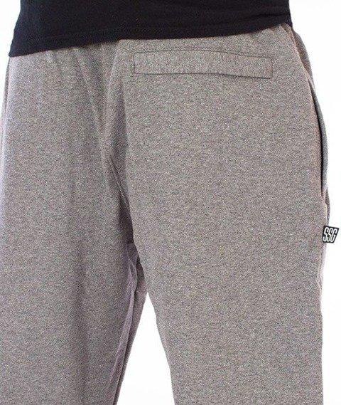SmokeStory-Classic Slim Spodnie Dresowe Grafitowe