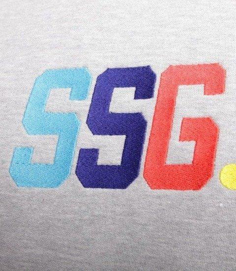 SmokeStory-Colors SSG Bluza Jasno Szara